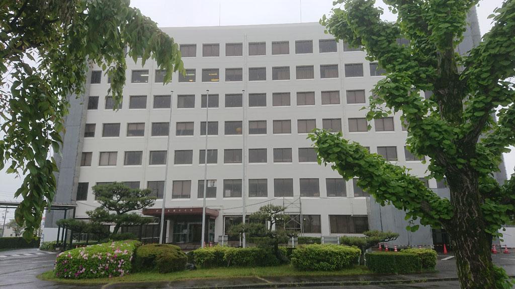 岐阜県福祉農業会館・外観